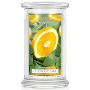Kringle Candle Citrus & Sage Classic Jar Large