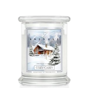 Kringle Candle Cozy Cabin Classic Jar Medium