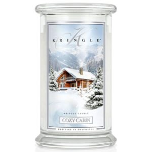 Kringle Candle Cozy Cabin Classic Jar Large