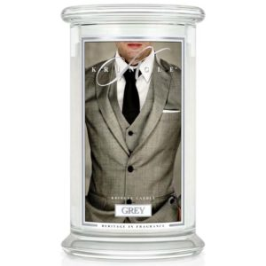 Kringle Candle Grey Classic Jar Large