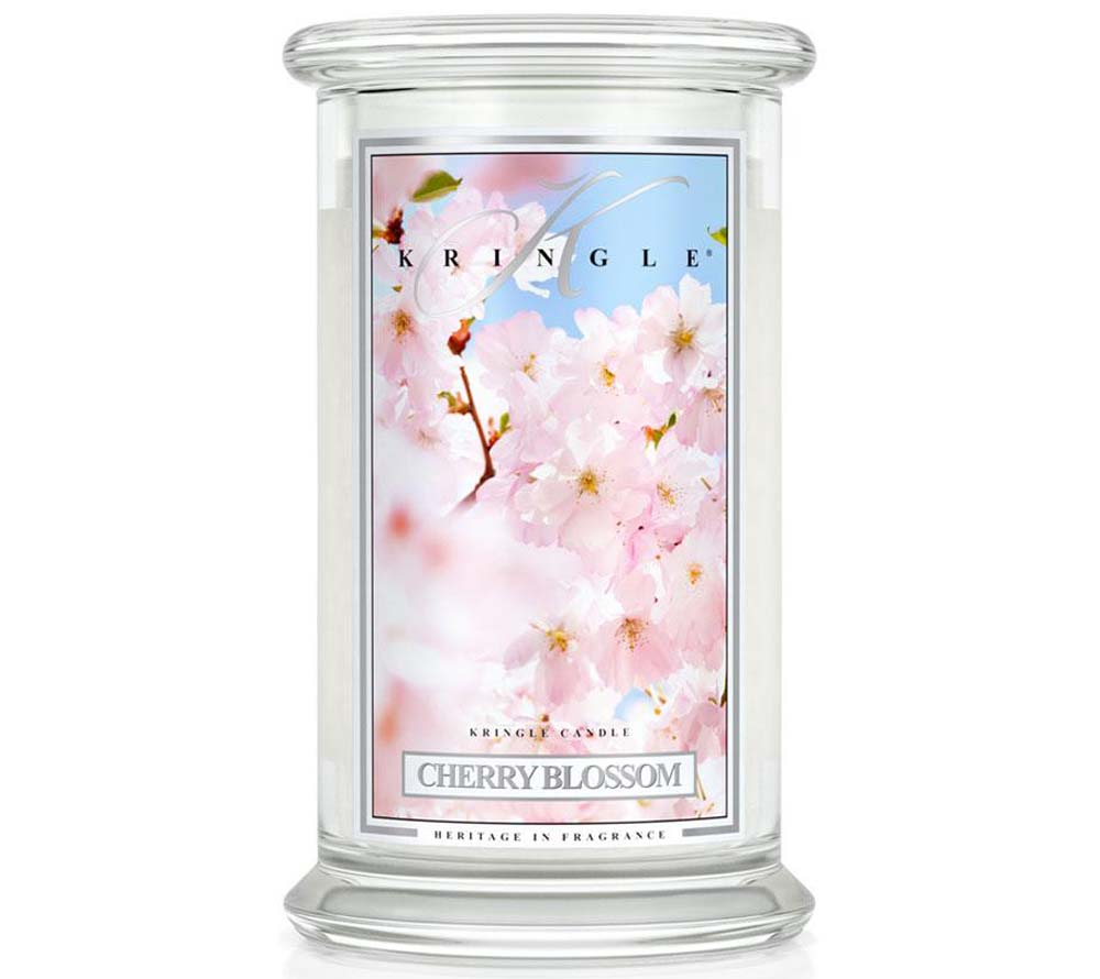 Kringle Candle Cherry Blossom Classic Jar Large
