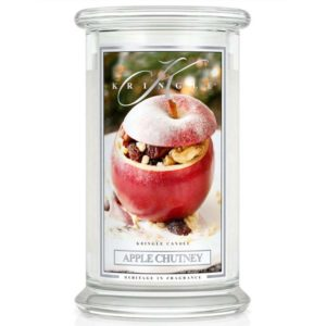 Kringle Candle Apple Chutney Classic Jar large American Heritage