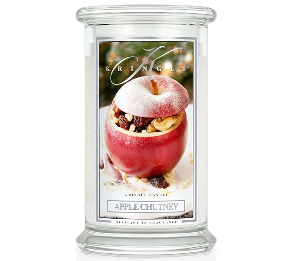 Kringle Candle Apple Chutney Classic Jar large American Heritage