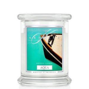 Kringle Candle Aqua Classic Jar Medium