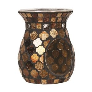 accessories_golden_brown_mosaic_aroma_lampa