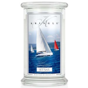 Kringle Candle Set Sail Classic Jar Large