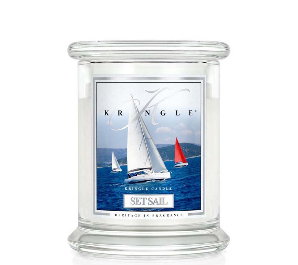 Kringle Candle Set Sail Classic Jar Medium