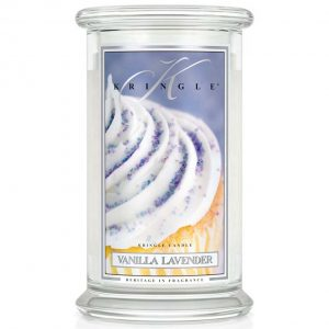 Kringle Candle Vanilla Lavender Classic Jar Large
