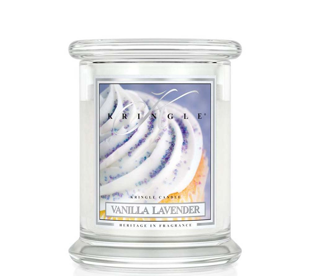Kringle Candle Vanilla Lavender Classic Jar Medium