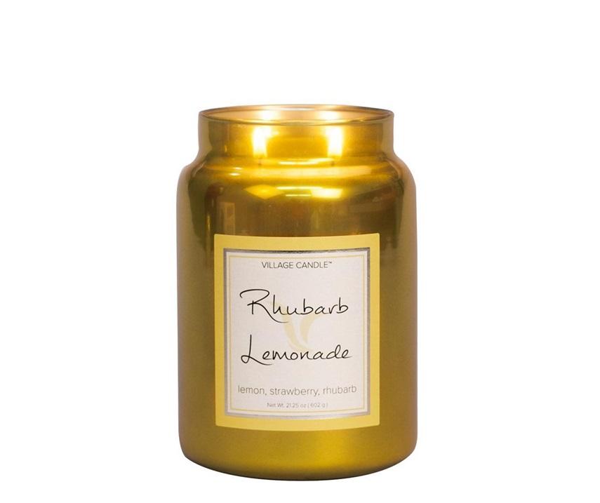 Village_Candle_rhubarb_lemonade_metalic_L_svijeca_jar