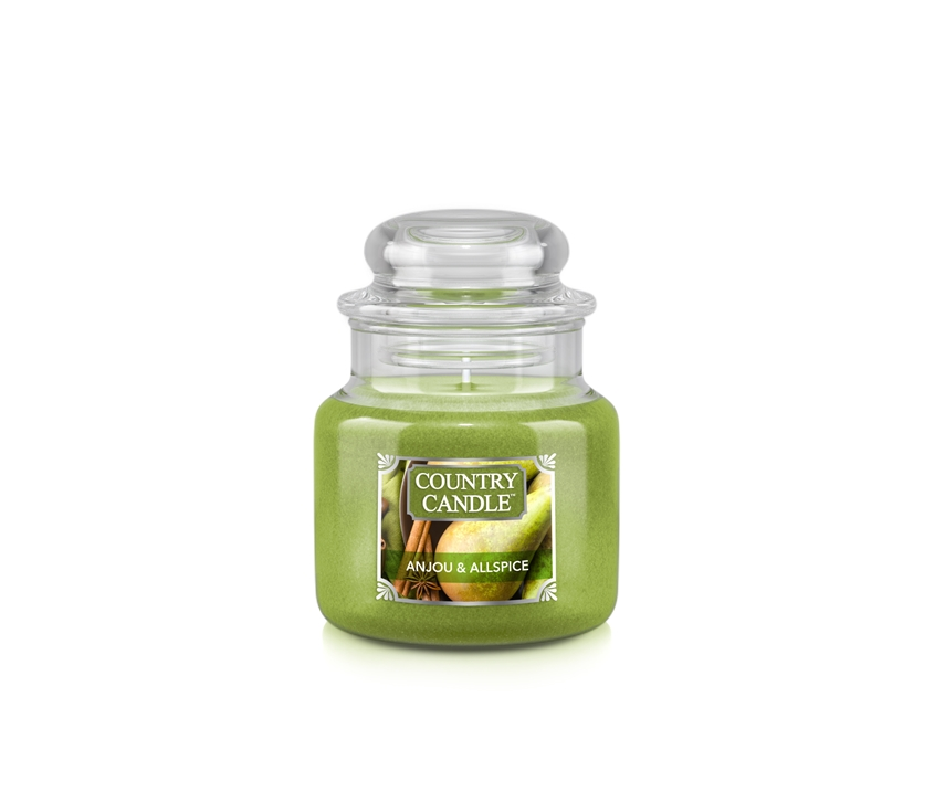 Country_candle_S_Anjou_and_Allspice_svijeca