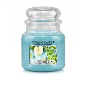 Country_candle_M_Cilatro_apple_lime_svijeca