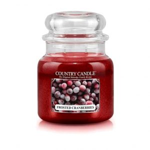 Country_candle_M_frosted_cranberries_svijeca