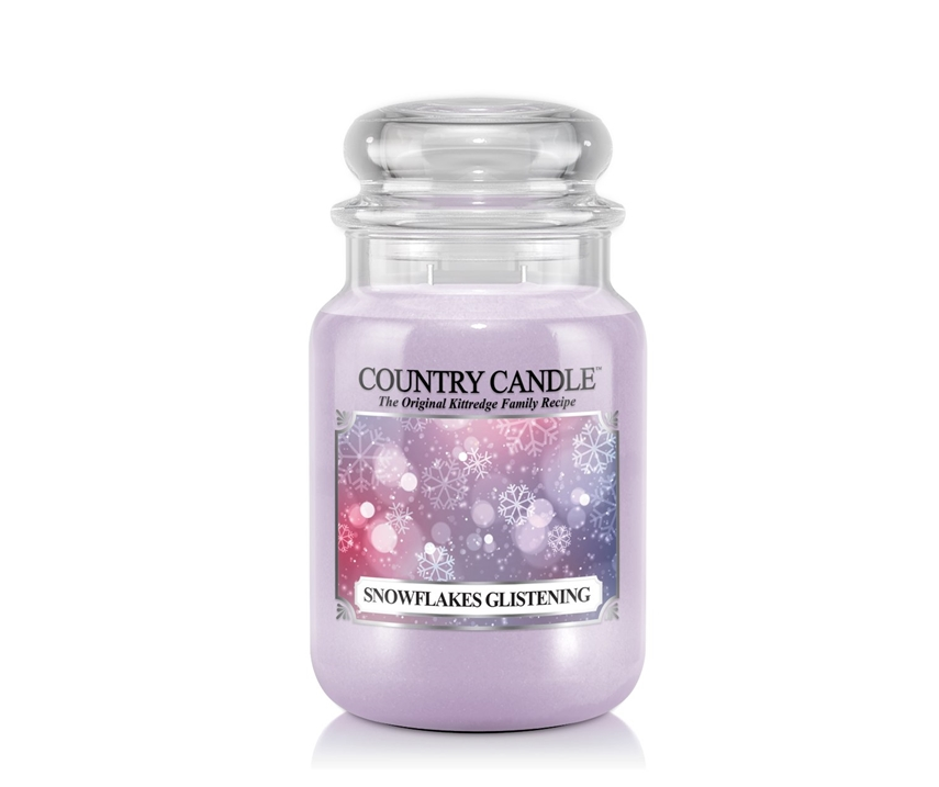Country_candle_L_Snowflakes_Glistening_svijeca